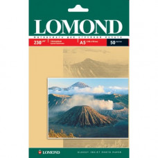 Photo paper Lomond gloss, one-sided. 130g/m, A4, 50sh. 0102017