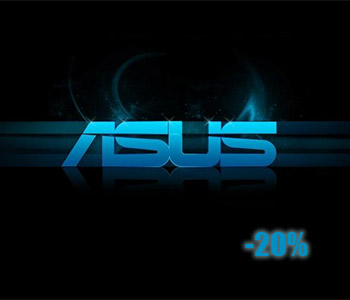 ASUS products sale -20%